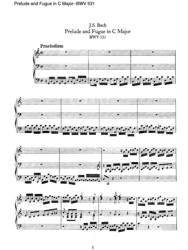 prelude & fugue xv in g major johann sebastian bach essay Analysis: js bach organ fugue in g minor essaysanalysis: js bach's organ fugue in g minor bach's organ fugue in g minor contains a six measure subject with a tonal answer.